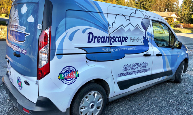 Full work vehicle wraps
