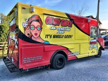 Oh My Gado food truck wrap