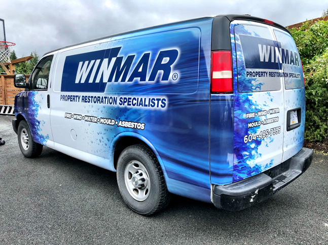 Winmar work vehicle wrap