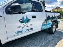 Level Update truck wrap