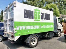 Bin 86 Junk truck wrap