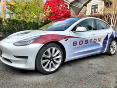 Tesla business wraps