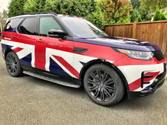personal crossover vehicle wraps