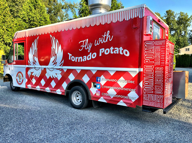 How to Enhance Your Food Truck Wrap