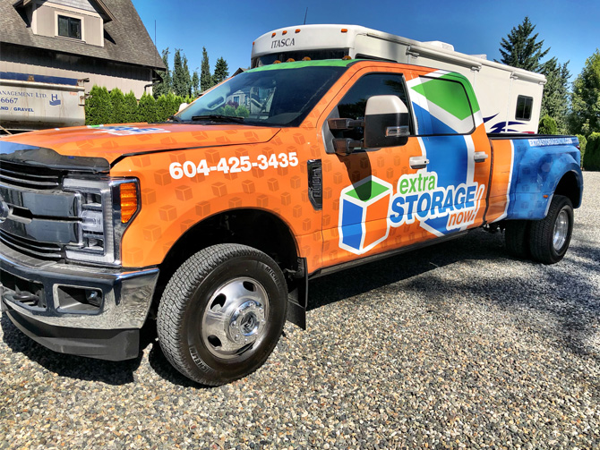 Vehicle Wrap for Business