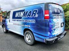 service van wrap