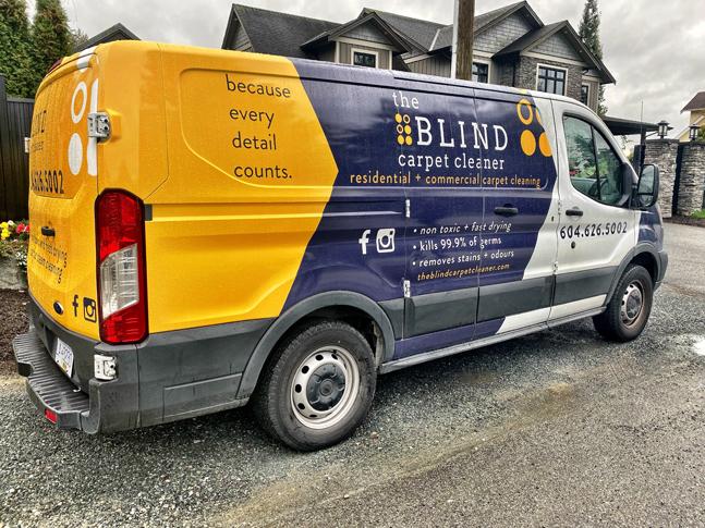 The Blind Carpet Cleaner