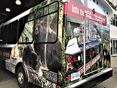 tour bus wrap