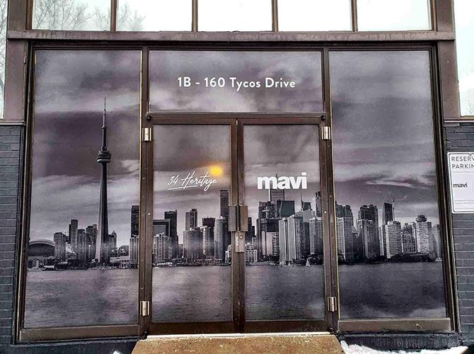 storefront building wrap