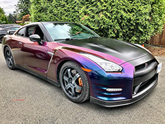 chrome car wrap