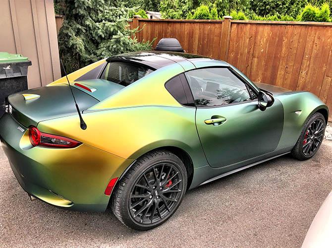 colour changing car wrap