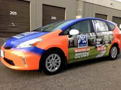 BW Insurance Full Vehicle Wrap