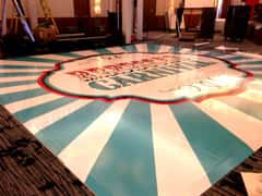Carnival Vinyl Floor Wrap