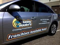 Husky Hauler Partial Vehicle Wrap