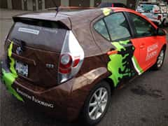 Kingston Floors Partial Vehicle Wrap