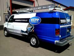 Repp Partial Vinyl Car Wrap