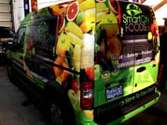 Smart City Foods Full Graphic Wrap