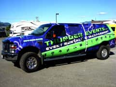 Thunder Events Full Vehicle Graphic